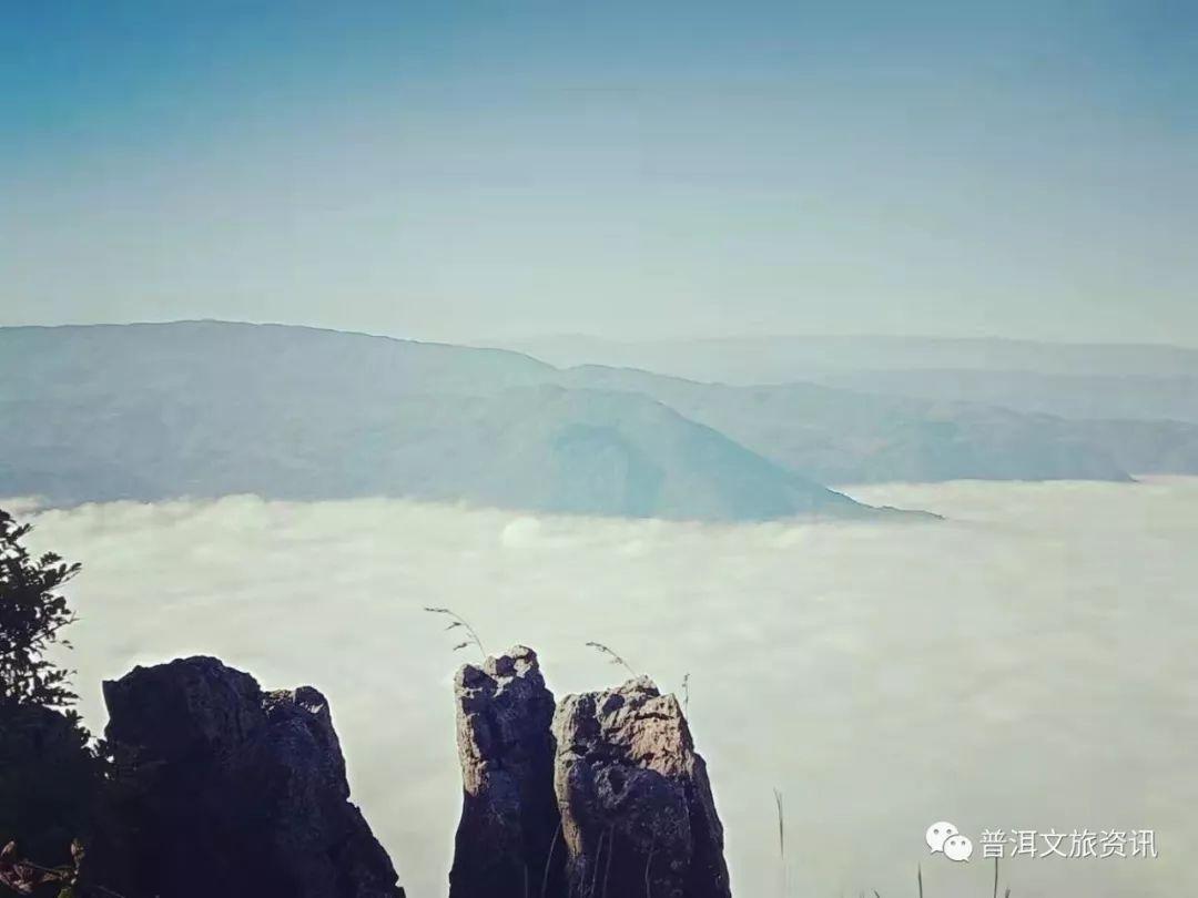寻一处高山,观一番云海:传说这里是仙人住过的地方