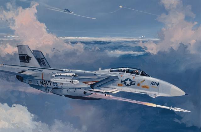 AIM-120性能不够,美海军需要一种比中国霹雳-15射程更远的导弹