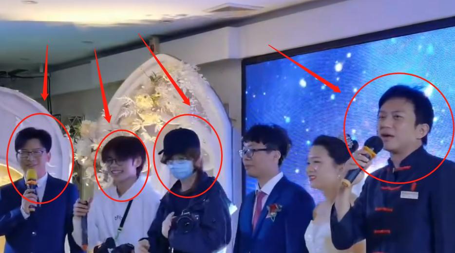 鹿晗录制节目还参加婚礼,路人镜头暴露真实颜值,这确定30岁?