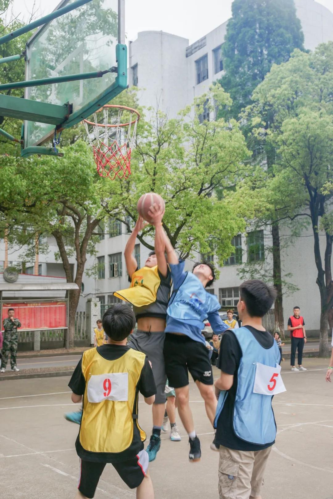 中科韬睿篮球友谊赛丨热血球场,不负青春