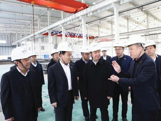 郭青到汉滨区调研产业项目建设情况
