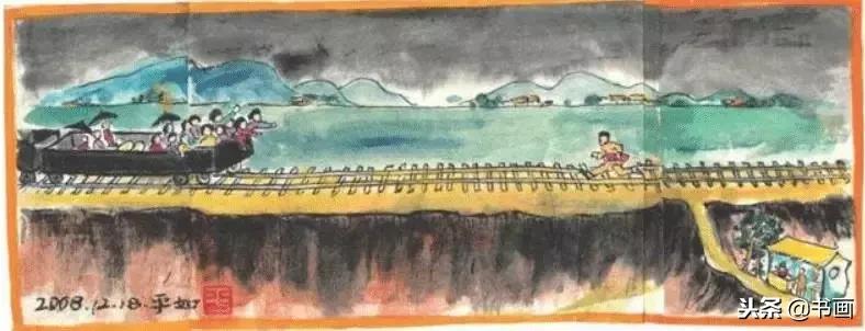 94岁的老人,画了18本画册纪念亡妻,感动世界