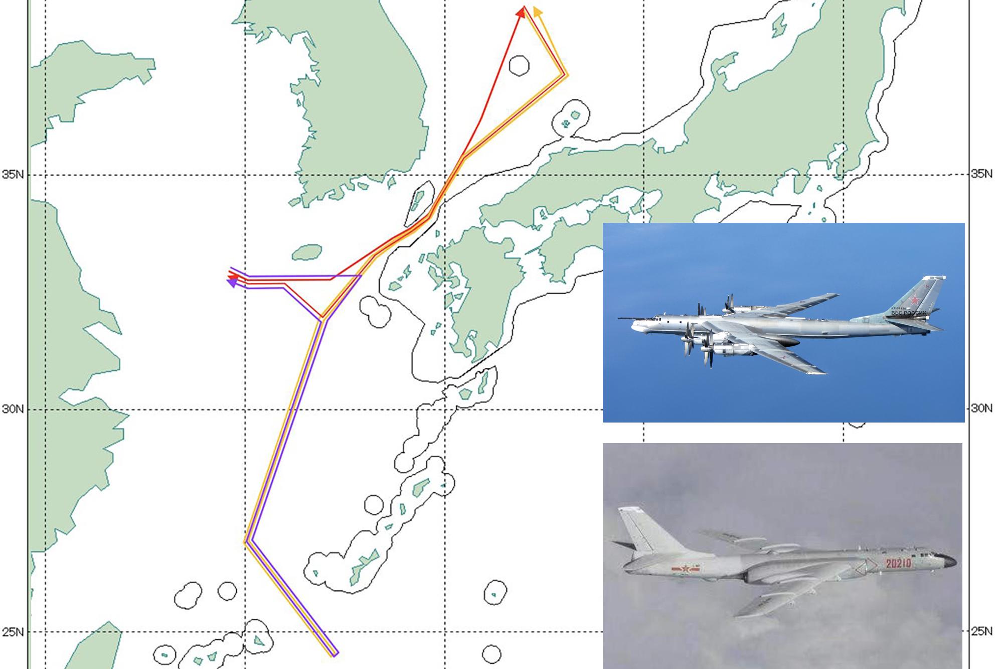 中俄轰炸机联合战巡,日本多地警报响起,战斗机紧急起飞如临大敌