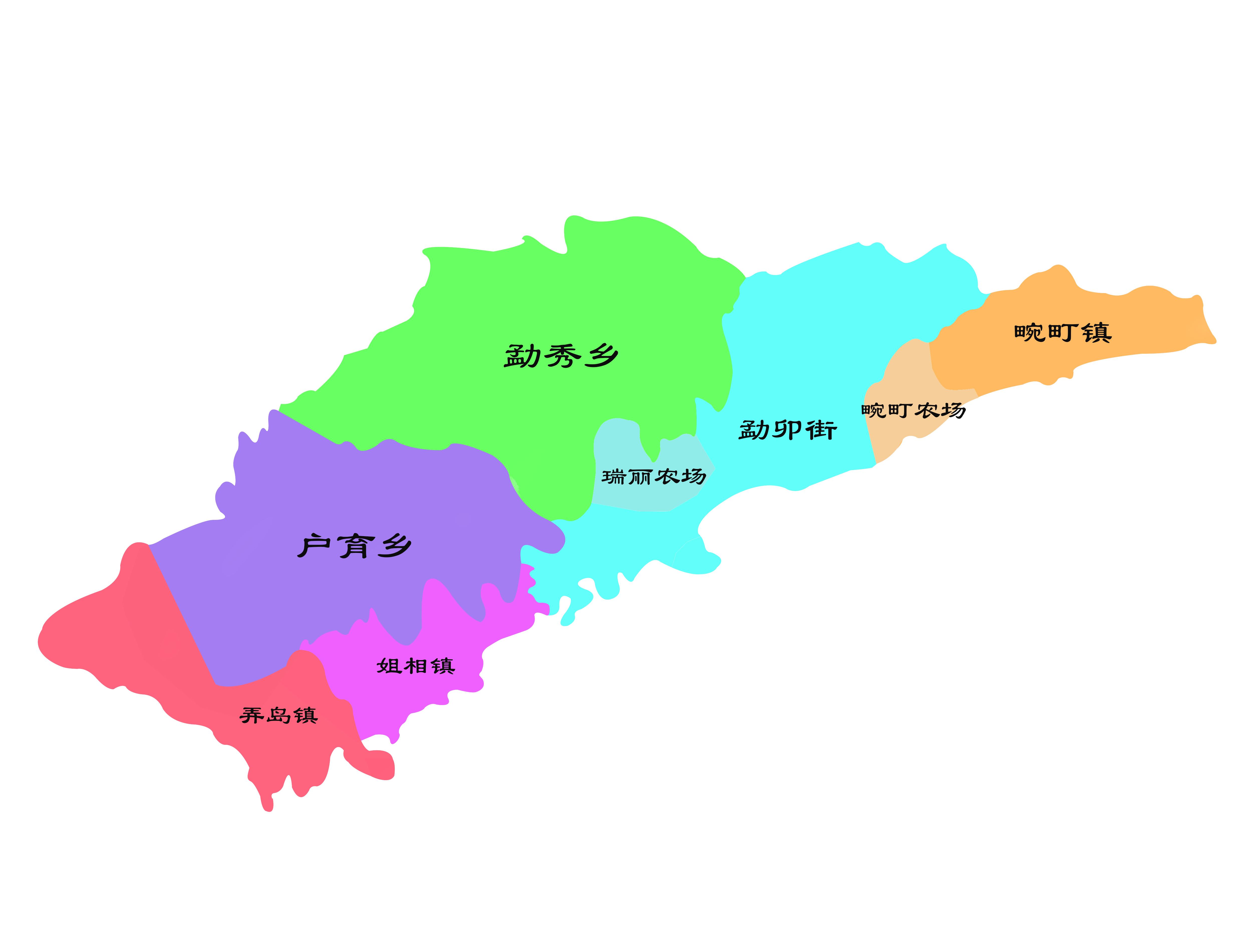 云南县市区系列——(017)瑞丽市