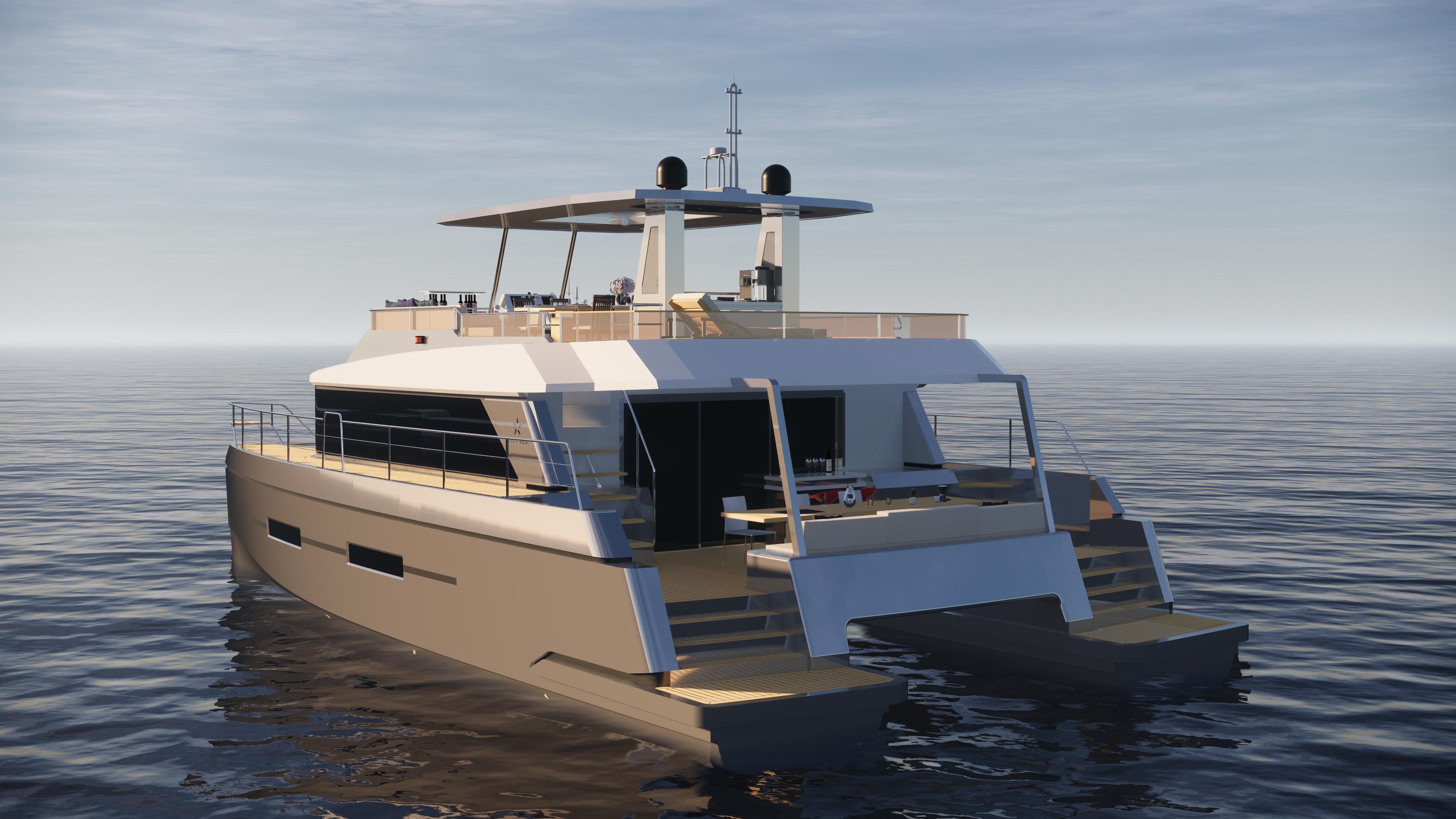 """天域「TY560C双体游艇」带你见证漂浮在海上的""""移动行宫"""""""