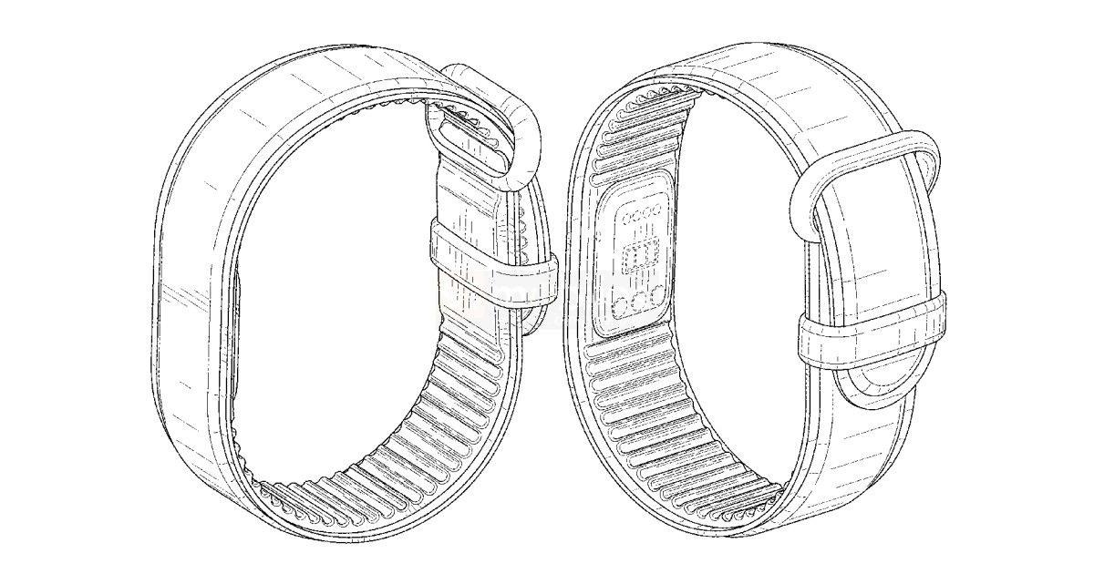 谷歌无屏幕健身手环专利公布,不可拆卸设计