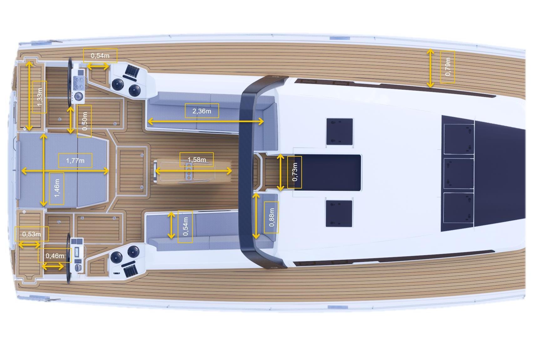 高性能下的优雅:法国丹枫新旗舰Dufour 61帆船