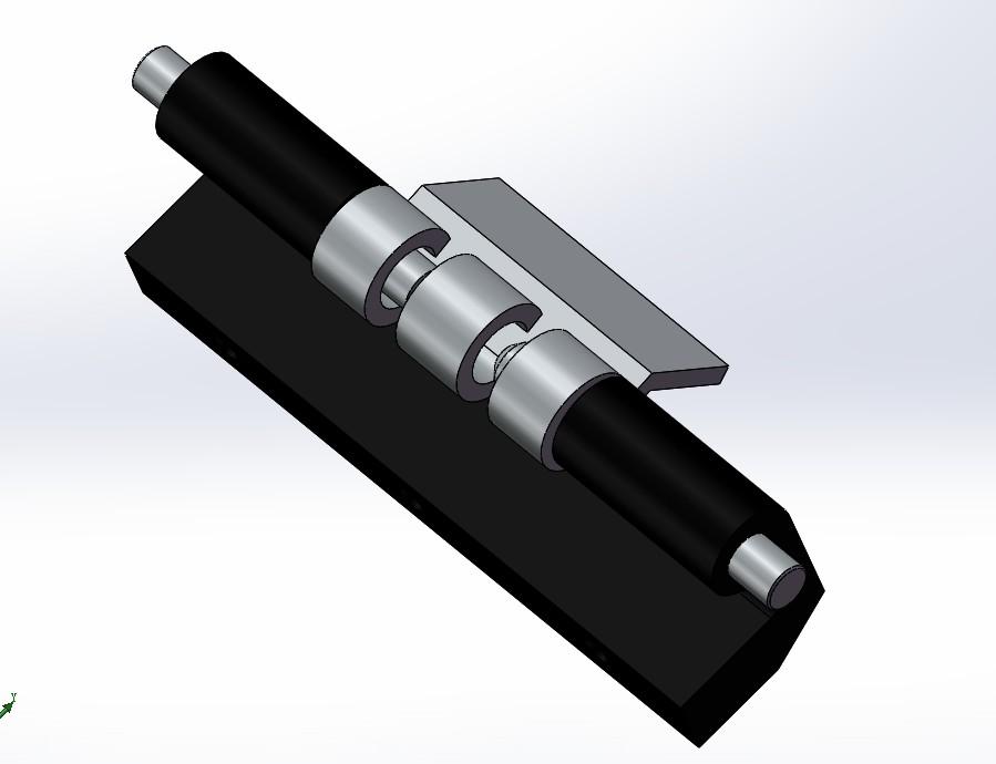 CL201铰链 与 4寸铰链3D数模图纸 Solidworks设计