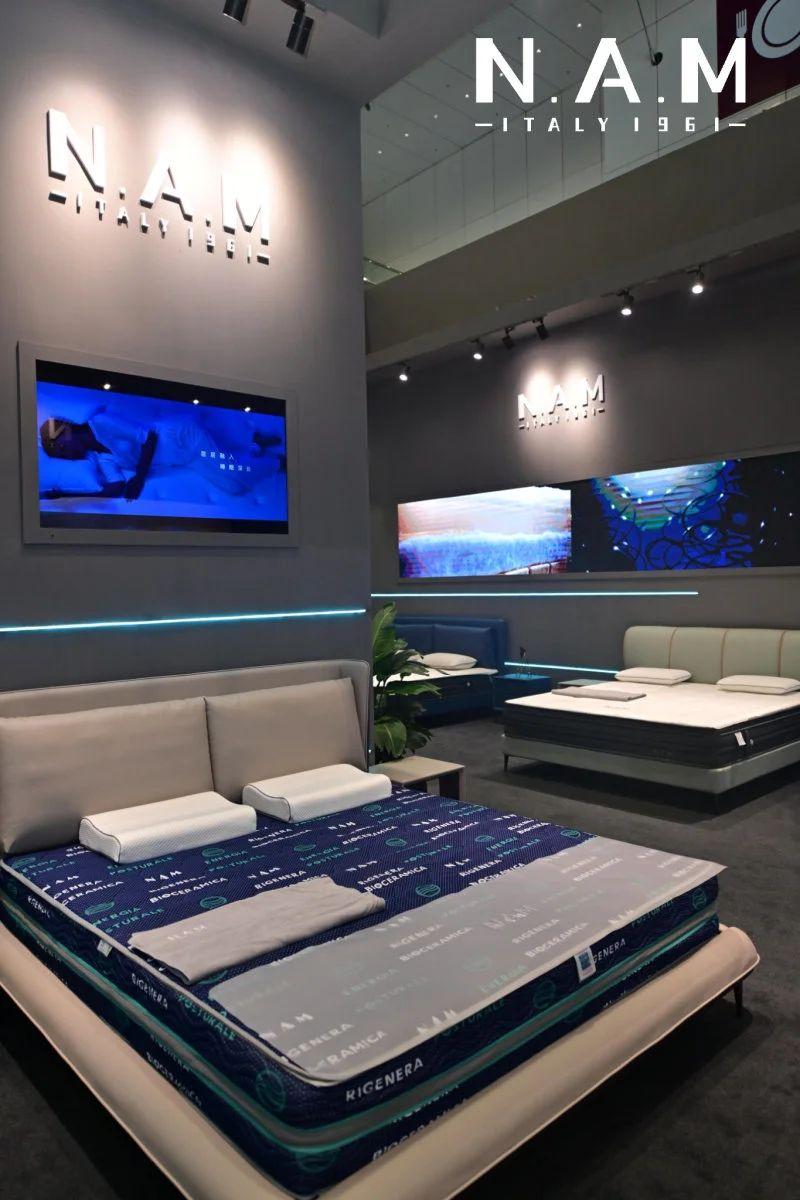 NAM的床垫新科技,个性化定制软硬可调