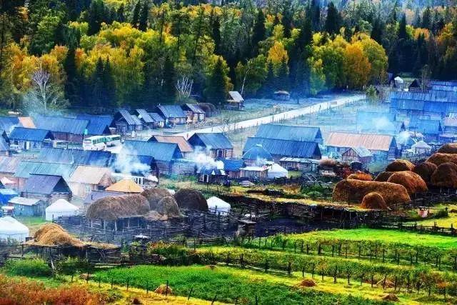 新疆喀纳斯的秋天——美爆了