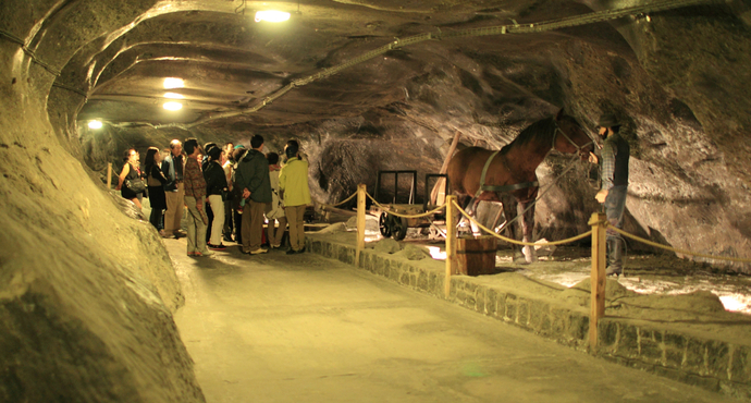 淡淡的波蘭(3):迷宮一樣的維利奇卡鹽礦
