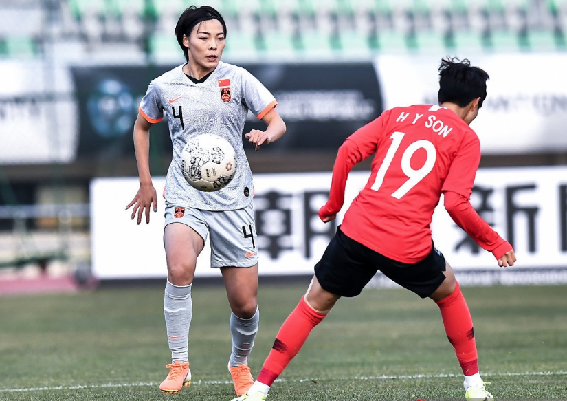 恭喜!中国女足实力碾压韩国队:1教练球员入围,贾秀全高枕无忧