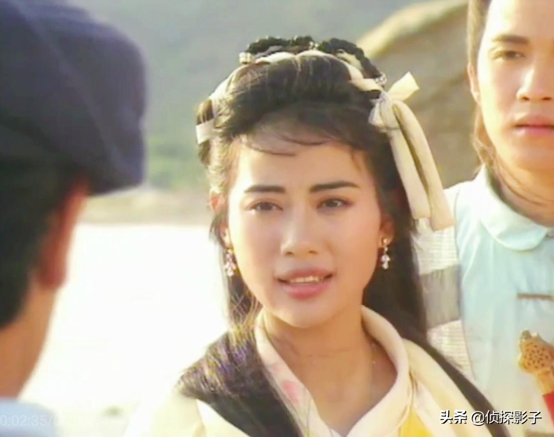 20岁的陈松伶,在90年代的港剧中,塑造了5个经典古装美人