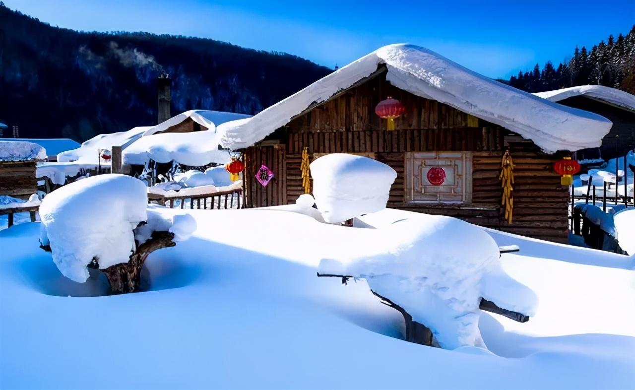 看冬雪还得来东北,够野