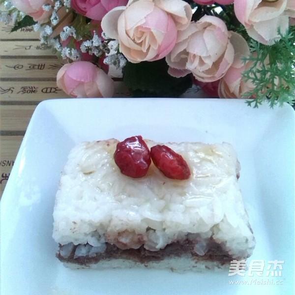 @淮北人 豆沙蜂蜜凉糕的做法 美食做法 第10张