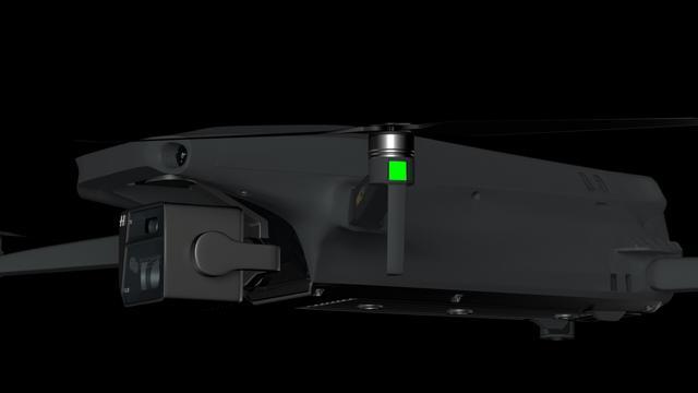 曝大疆Mavic 3续航有望超40分钟 渲染图现哈苏镜头
