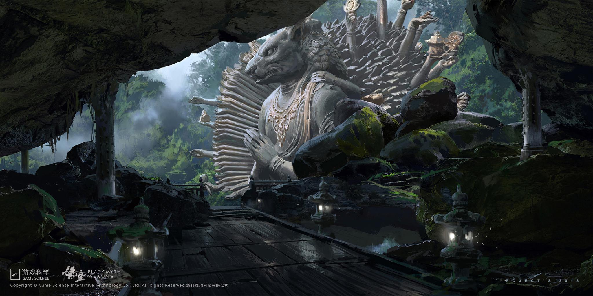 《黑神话:悟空》公开大量游戏截图 原《斗战神》