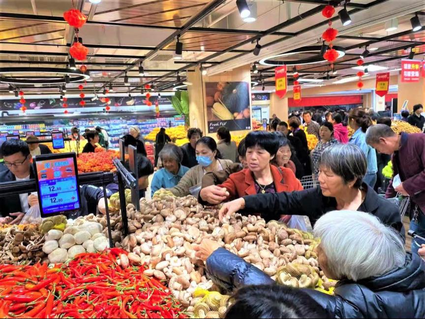 永辉超市青海首店开业 门店总数达981家