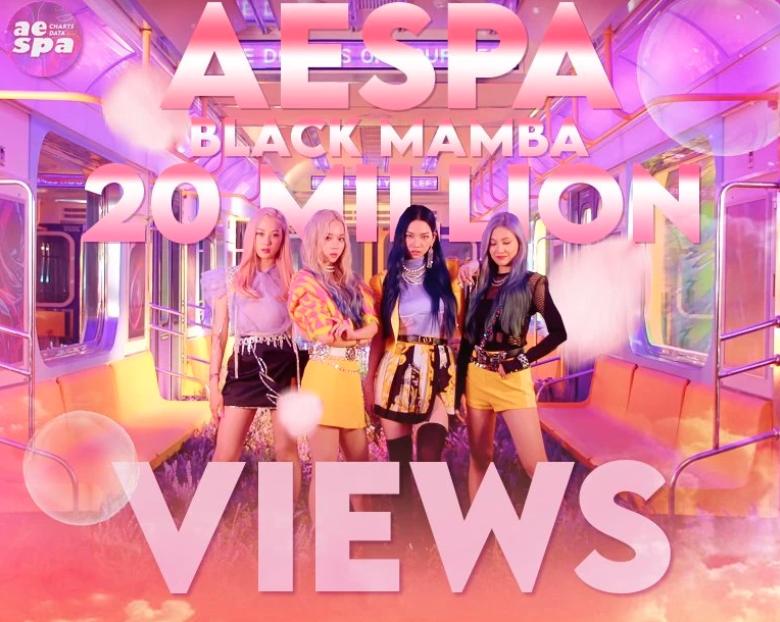 短短一天,aespa的出道MV突破兩千萬點擊量,歌迷:真香