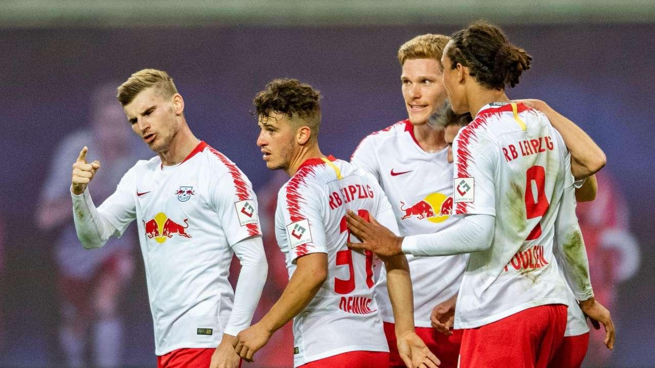 「德国杯」核心解读:纽伦堡vsRB莱比锡,RB莱比锡锋芒毕露