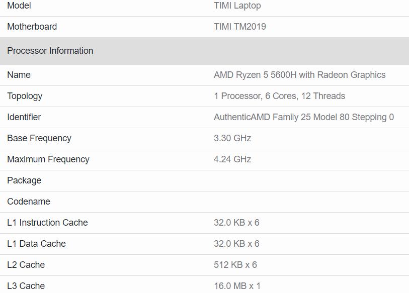 Ryzen 5 5600H相比4600H处理器进步明显