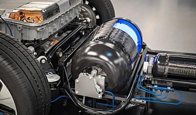 不烧油不插电,10款氢燃料电池汽车,第一款续航1200km