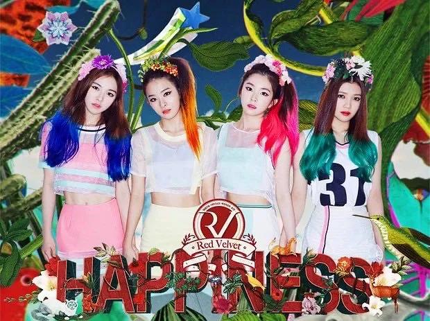 Red Velvet确定续约?WENDY突然剧透;仅剩智秀没有SOLO曲?