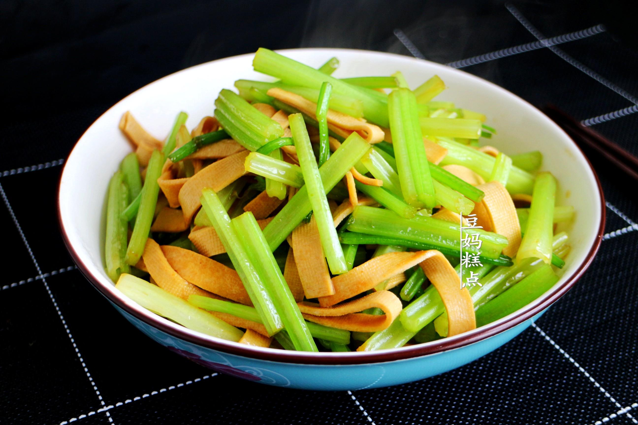 家常素小炒,节后清肠减肥必备 减肥菜谱 第6张
