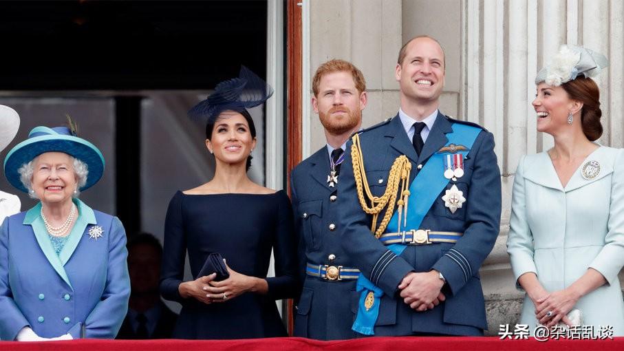 错综复杂的英国王位继承