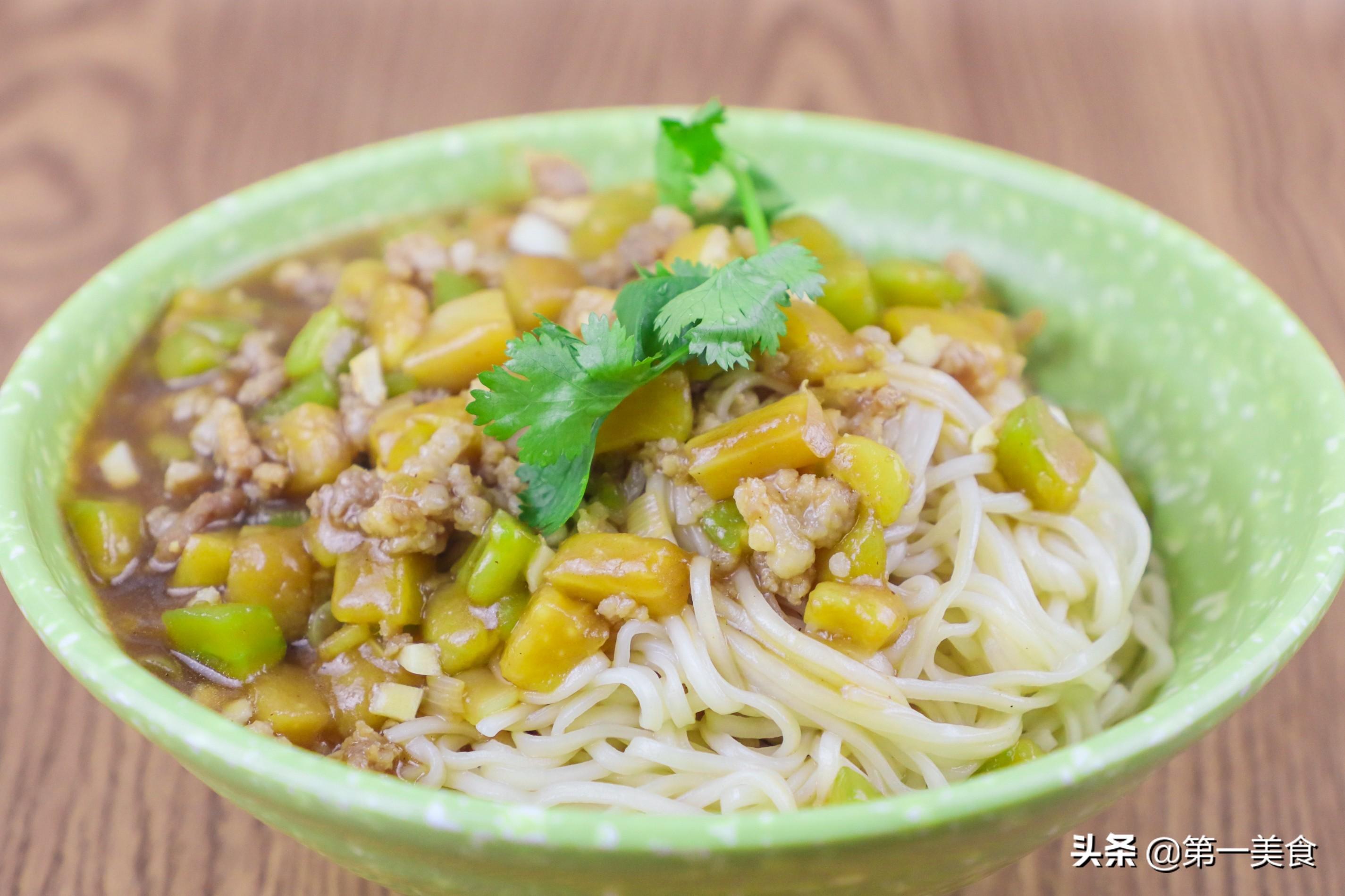 这才是地道的打卤面家常做法!卤菜配料很详细,简单入味的好面食