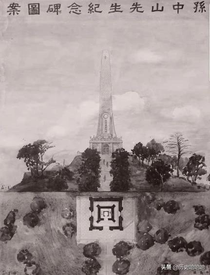孙中山去世后,治丧委员会有奖征集中山陵图案,谁获头奖?