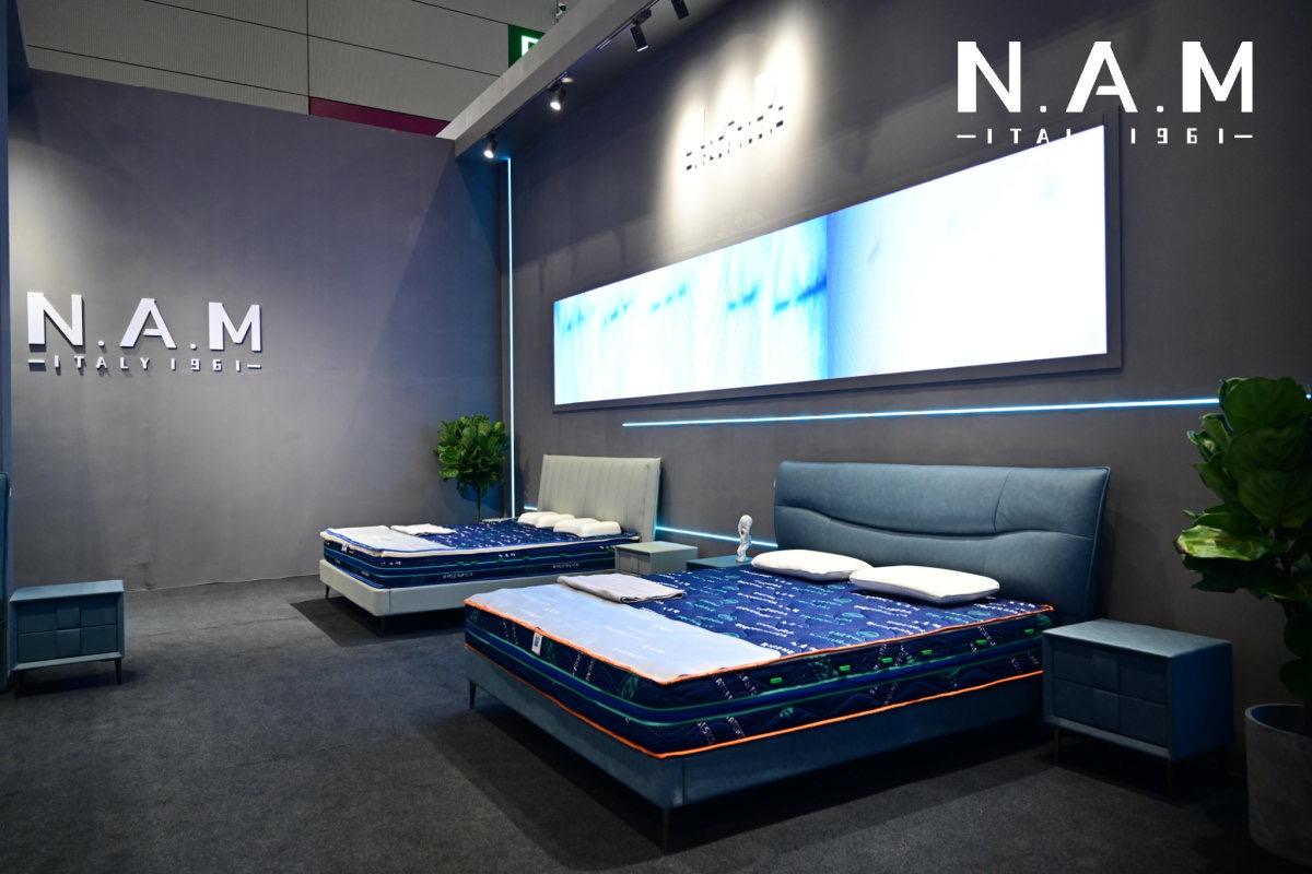 意大利N.A.M中国首秀,重新定义睡眠科技体验