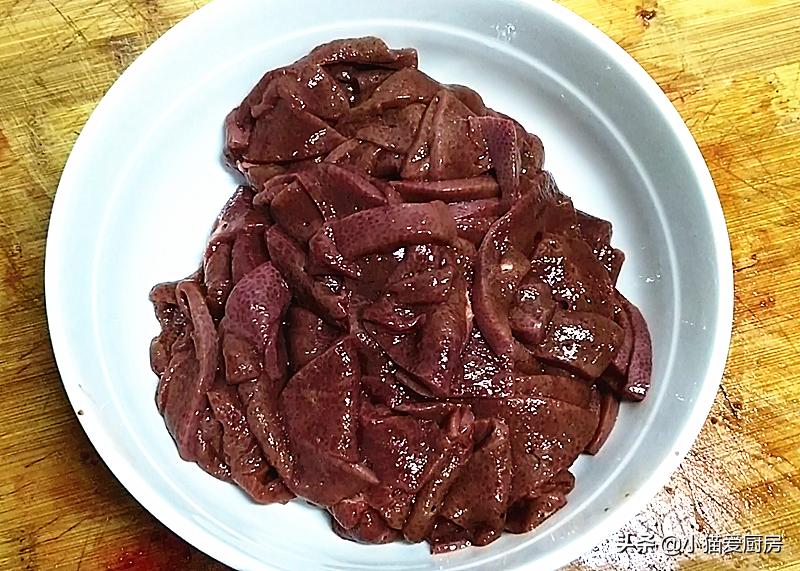 教你在在家爆炒猪肝 不老不腥 肉质鲜嫩入味 下饭下酒特别香