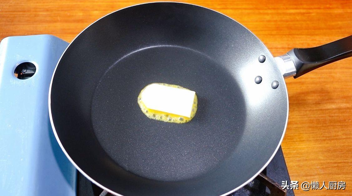 吃不完的吐司片不要扔了,試試這樣做,切開後有種爆漿的感覺