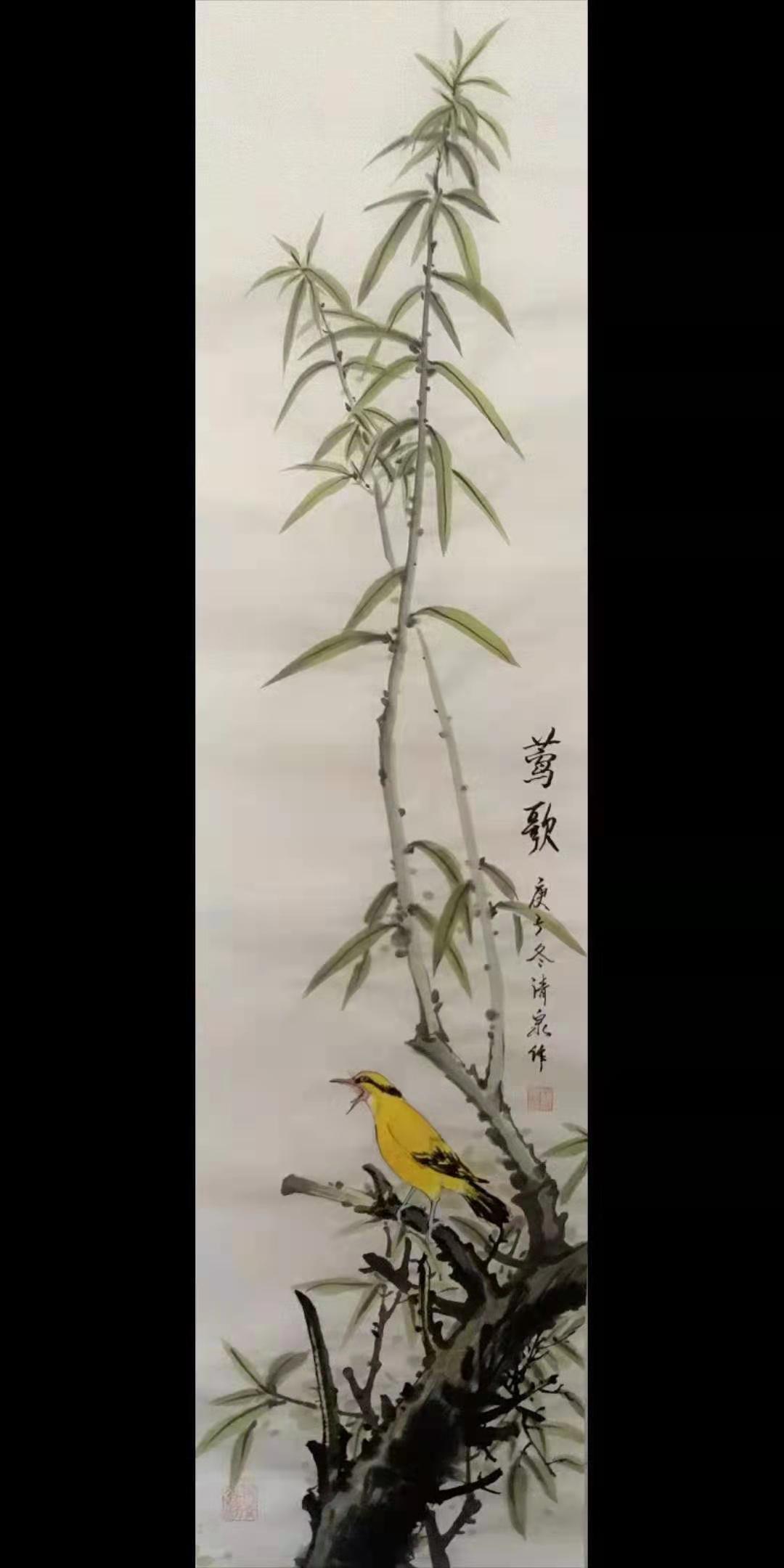 画家赵同安2021迎春作品展