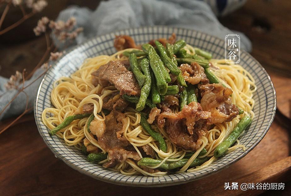 在家怎么做炒面才好吃?尝试这个做法,不粘不坨,味美又好吃