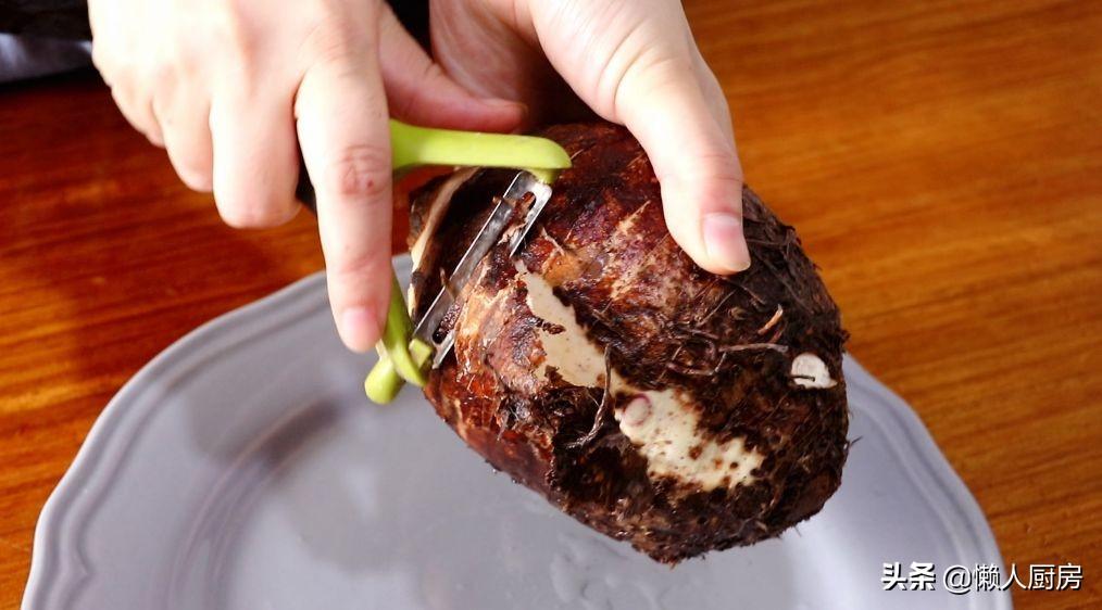 不用油炸,原來芋頭片的做法這麼簡單,一個芋頭能做好多