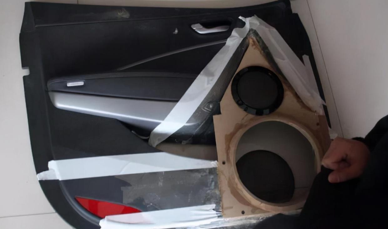 汽车音响改装从入门到精通(第二十课):倒模制作(2)音响倒膜