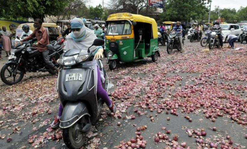 """""""没有一颗洋葱能够离开印度"""""""