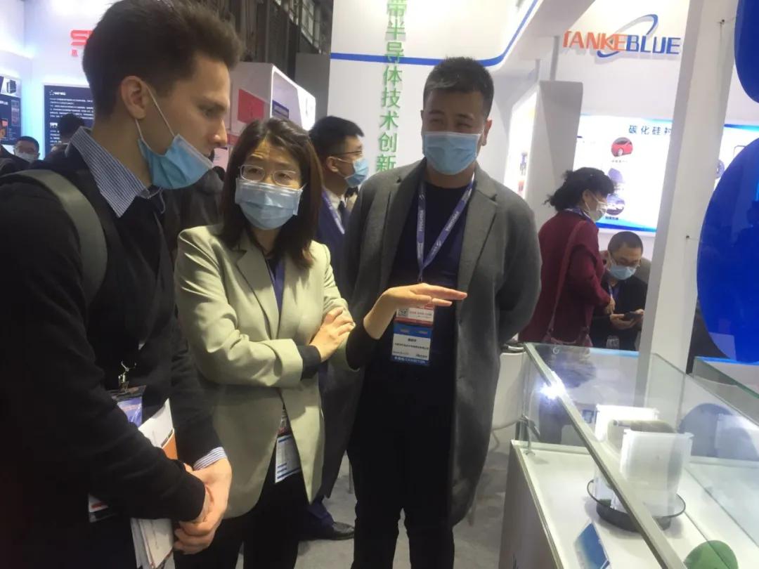 天科合达公司精彩亮相SEMICON China 2021