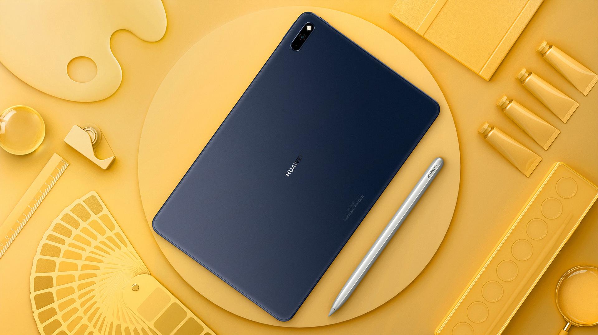 3199元!华为MatePad 5G发布:麒麟820+2K