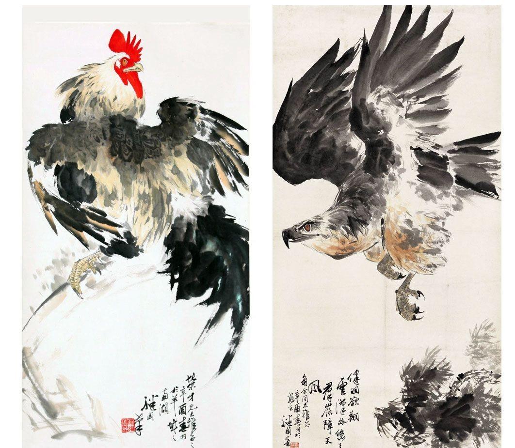 刘继卣动物画