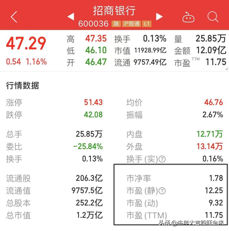 动态市盈率算法(股票最简单的估值方法)