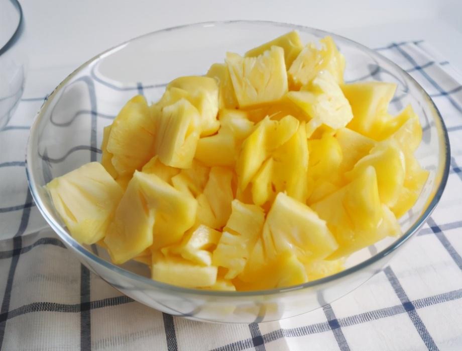 菠萝酱的做法步骤图 随取随吃