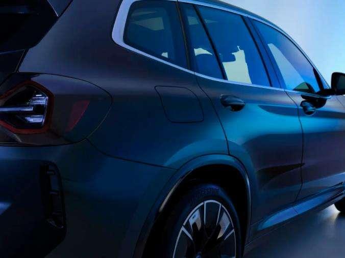 不得不i  新BMW iX3焕新上市