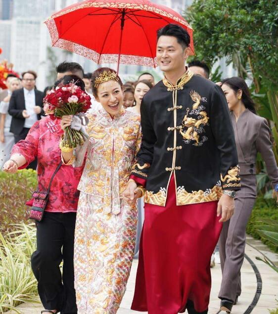 江若琳结婚 老公是生煎包王萧润邦10年挚友变爱人