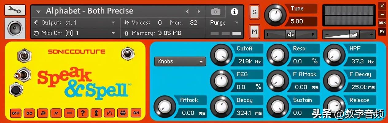 [玩具电子音色完整版]SonicCouture Speak & Spell KONTAKT LIVE EXS24+使用教程指导(267 MB)
