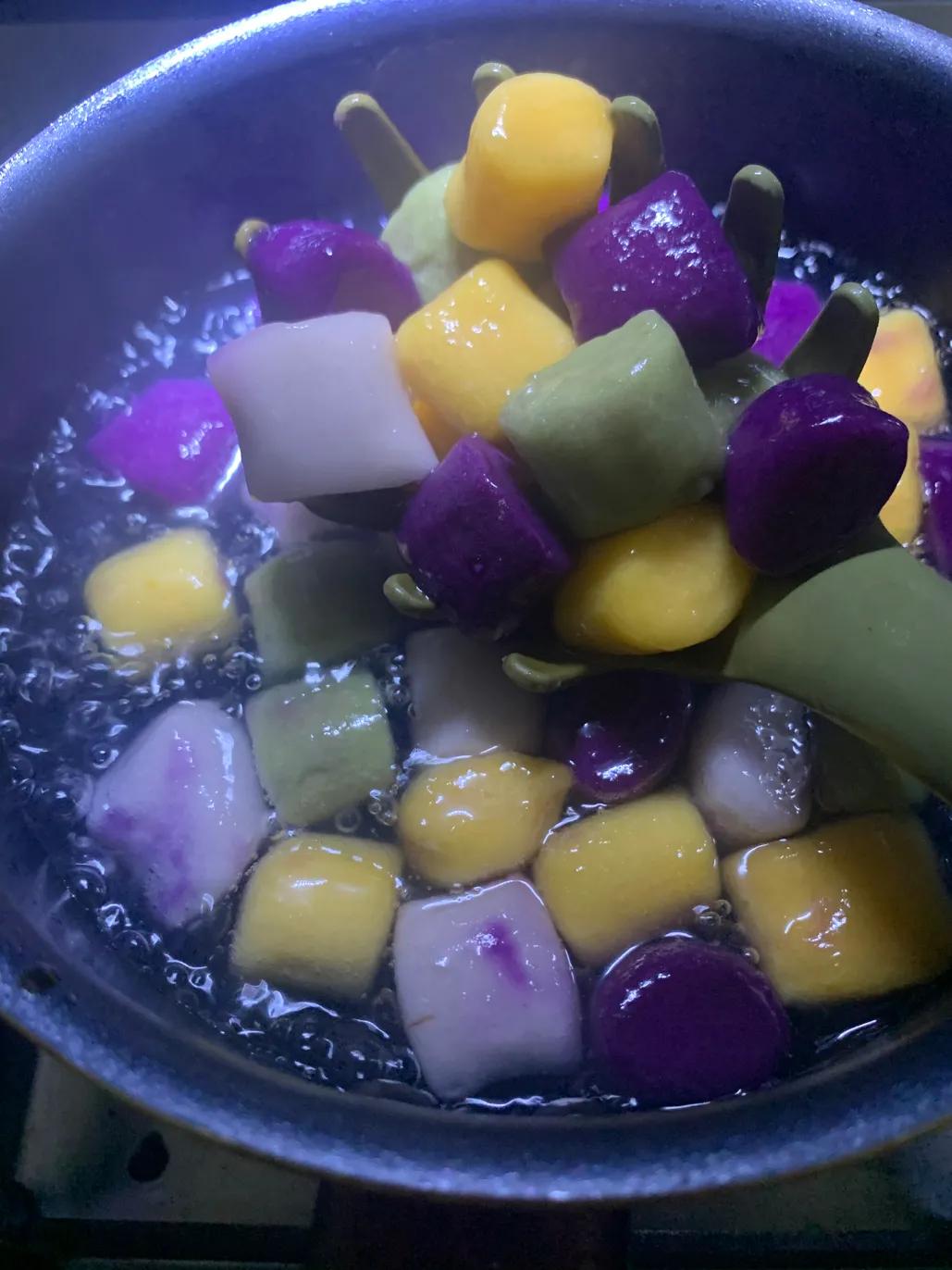 自制一杯珍珠芋圆脏脏茶需要多少东西?