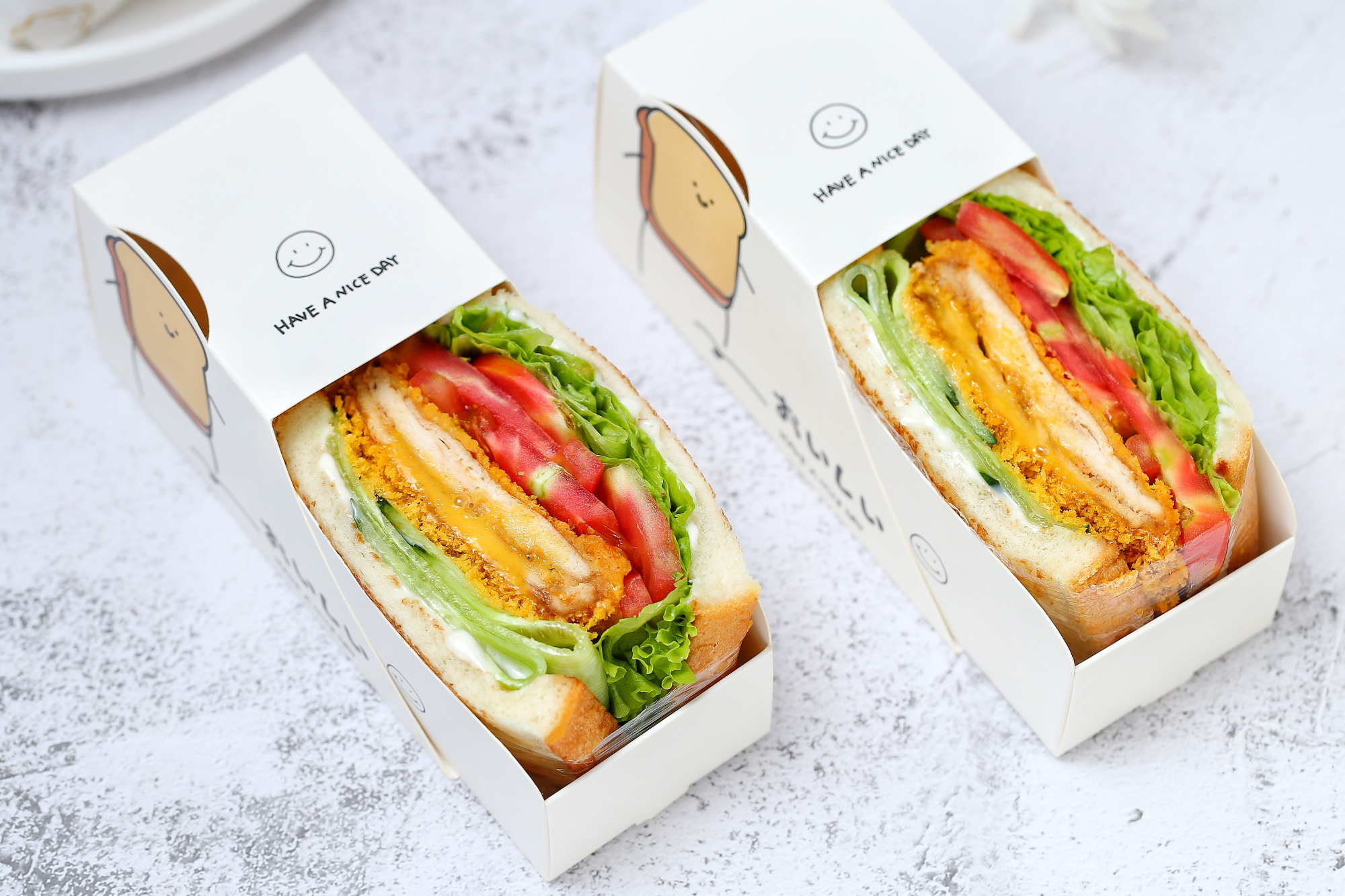 自制无油爆浆鸡排三明治,干净卫生比外卖健康,少花钱吃得还过瘾 美食做法 第3张