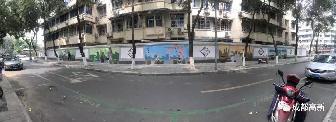 新晋网红墙!这些彩绘墙,每一堵都令人real惊喜